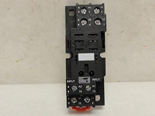 Relay Socket 16A Square 8 Pin Standard