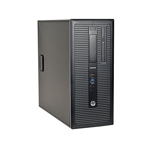 HP EliteDesk 800 G1 Tower, Intel Core i7-4770 3.4Ghz, 2TB HDD, 16GB DDR3 Ram, DVD-ROM, Windows 10 Pro 64-bit (Renewed)