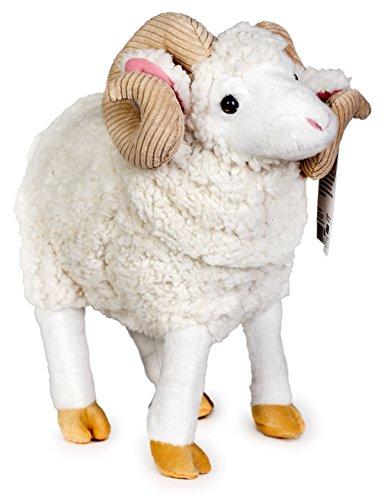 [VIAHART 15 Inch Large Ram Sheep Stuffed Animal Plush | Ruslan the Ram] (Sock Puppet Costume Monkey)