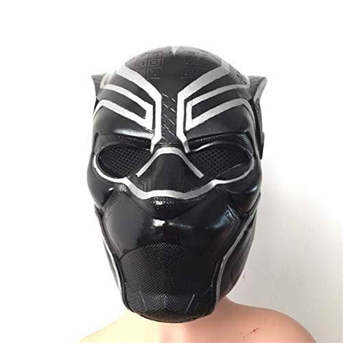 Latex Superman Costume - Boys Costume Accessories - Superhero Movie Black Panther Mask Cosplay Costumes Latex Hoods Halloween Props - Accessories Costume Boys Boys Costume Accessories Adult Batman Mask Black Panther Co