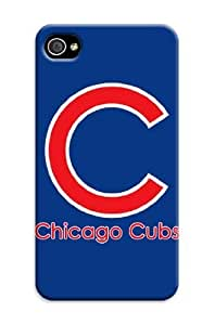 Mlb Chicago Cubs Cover Tpu Case For Iphone 4/4S