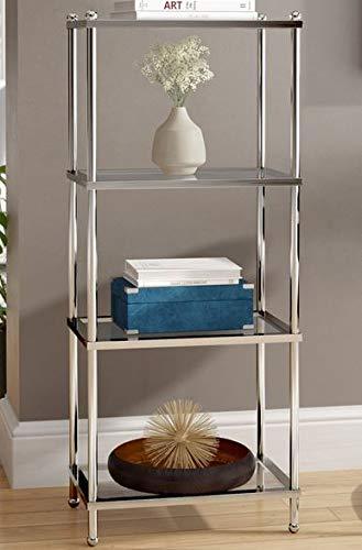 Groovy Amazon Com Book Cases Shelves Bookself Etagere Chrome Home Remodeling Inspirations Basidirectenergyitoicom