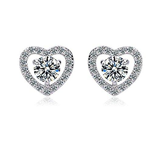 Jewelry Sterling Zirconia Earrings Necklace
