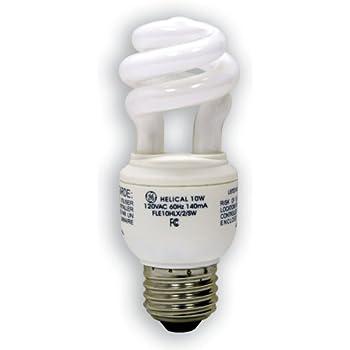 GE electric 40 Watt soft white spiral light bulb Pack of 3