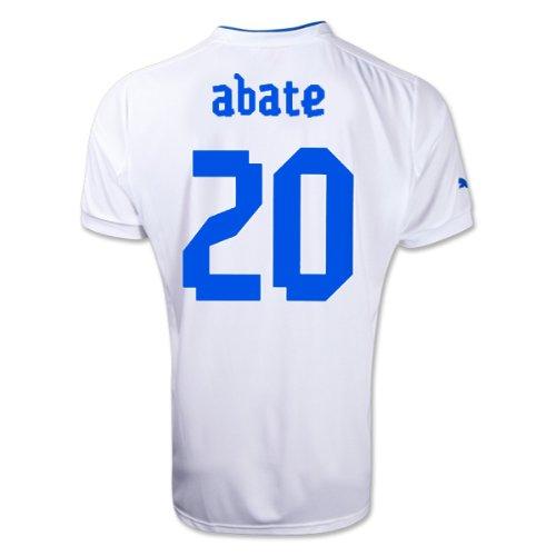 ABATE # 20 ITALY AWAY JERSEY 2013 (XL)