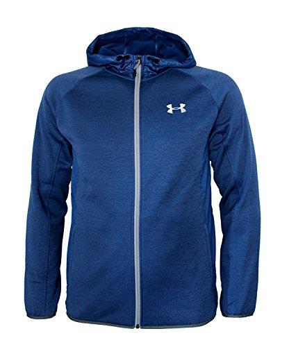 (Under Armour Men's STORM Athletic Full Zip Hooded Light Jacket Hoodie (M, Royal Blue))