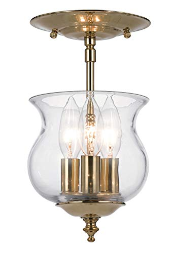 Crystorama Antique Brass Sconce - Crystorama Lighting Group 5622-AB Hampton 2 Light Candle Style Flushmount Wall Sconce, Antique Brass