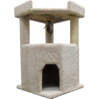 Corner Roost Cat Condo