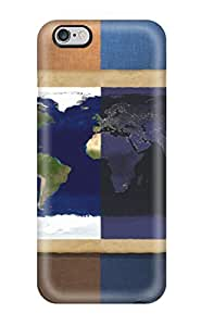 Hot IgWnaCS4170fOdkL Case Cover Protector For Iphone 6 Plus- Map Earth Nature Other