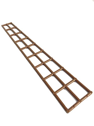 Lego Parts: Boat Mast Rigging Long 27 x 5 (Brown)