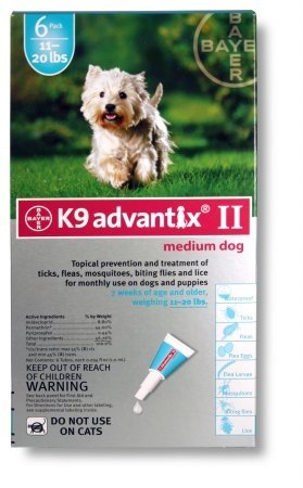 Teal Dog Flea Treatment - 5