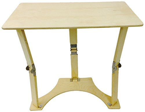 Spiderlegs Folding Laptop Desk Tray Table, 27-Inch, Natur...