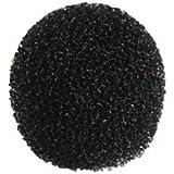 Monacor 23.256014x 15mm Schaumstoff-Windschutzhülle für Mikrofon, Schwarz