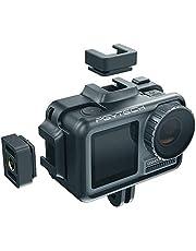 Hensych voor PGYTECH Camera kooi voor OSMO Action, metalen kooi beschermende behuizing geval afdekking frame voor OSMO Action Camera