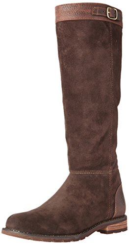 Ariat Kvinners Creswell H2o Land Mote Boot Sjokolade