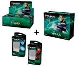 MTG Magic The Gathering War of The Spark Booster Box + Bundle + Both Planeswalker Decks