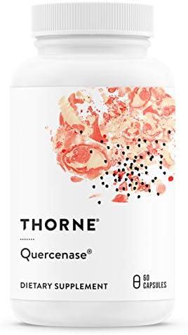 THORNE RESEARCH, Quercenase (Bromelain & wasserlösliches Quercetin) - 60 Stk