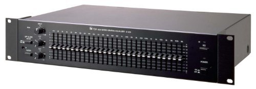 E-1231 1-Channel 1/3 Octave Graphic Equalizer by Toa