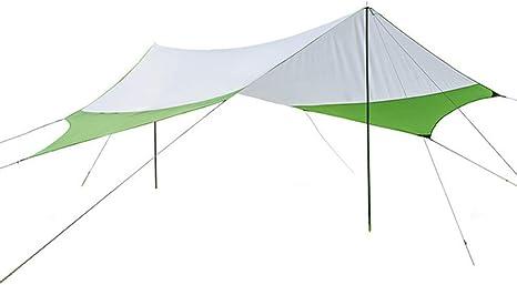 JW-DDP Toldo al Aire Libre, protección Solar Upf50 + Anti-UV Beach Carpa Visera Camping Large Pergola: Amazon.es: Deportes y aire libre