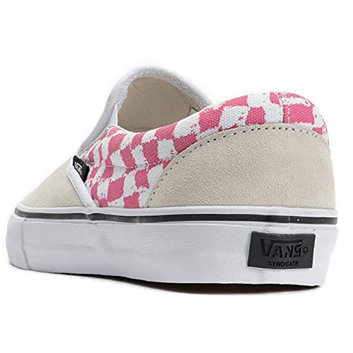 Pro Taille Vans Harmony Korine Chaussures Beige Blanc 43 Rose Slip on S qRqF1tp
