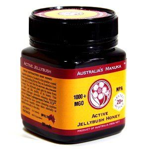 超高活性マヌカハニー(メチルグリオキサール含有量1019mg/kg) オーストラリアンマヌカハニー (250g×4本) B073TXW9VD 250g×4本