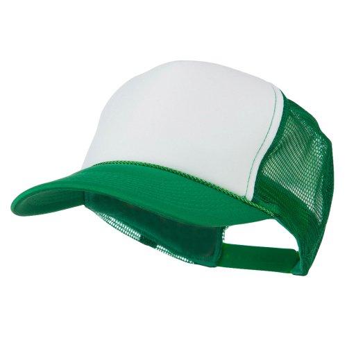 Golf Style Mesh Back Ball Cap - Kelly OSFM