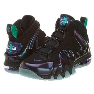 Nike Mens Barkley Posite Max Black Eggplant 555097-003