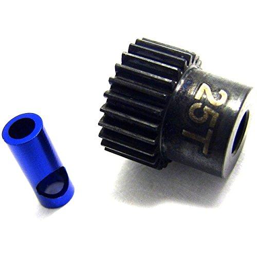 Gear 25t - Hot Racing NSG825 25t Steel 48p Pinion Gear 5mm or 1/8