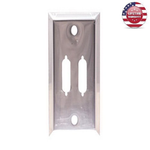 5 Pack X DB15 Wall Plate - 2 Port - Single Gang - Stainless Steel - By (Db15 Wall Plate)