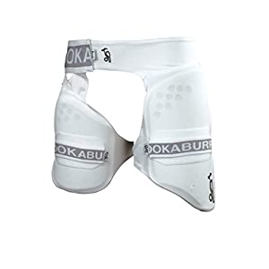 Kookaburra 500 Pro Guard for Inner and Upper Thigh Cricket Protective Gear - Batting Protection Guards - OSA Men's Size