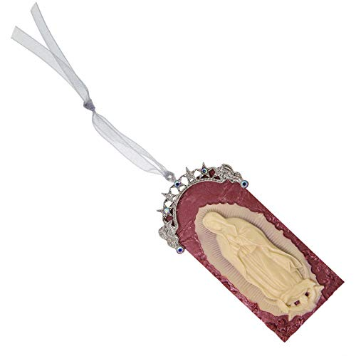 1928 Jewelry Symbols of Faith Our Lady of Guadalupe Cameo Christmas Ornament ()