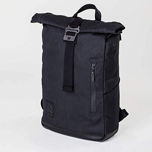 84c9af6d55ff1a Roll Top Backpack, Backpack, Laptop Backpack, Roll Top, Mens Backpack,  Canvas Backpack, Travel Backpack, Black Backpack, Leather Backpack, Rucksack ,Rolling ...