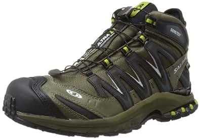Salomon Men's XA Pro 3D Mid LTR GTX Hiking Shoe,Bayou Green/Black/Seaweed Green,7 M US