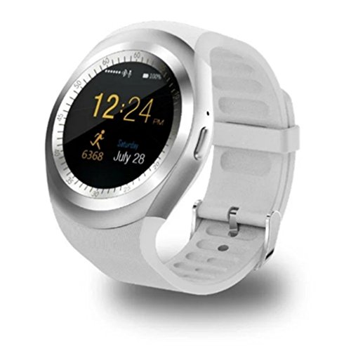 RabbyRock Y1 Bluetooth SmartWatch - HD IPS Round Touch Sc...