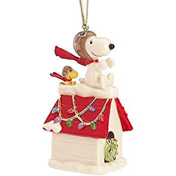 Lenox Snoopy Christmas Ornaments