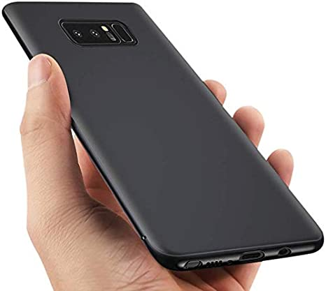 Funda Samsung Galaxy Note8, Vitutech Carcasa Galaxy Note 8 Cover Anti-Rasguño Shock-Absorción Bumper TPU Silicona Case de primera calidad para Galaxy Note 8 (2017) --- Negro: Amazon.es: Electrónica