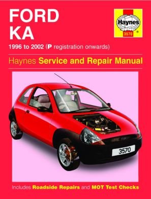 Haynes Workshop Manual Ford Ka   P Reg On