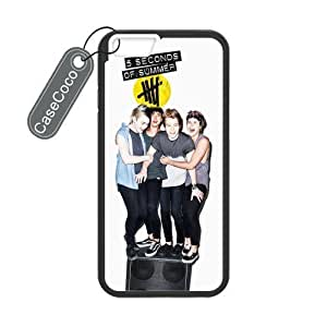 diy zhengCASECOCO(TM) Ipod Touch 5 5th Case, 5 SOS Case for Ipod Touch 5 5th (-) - Protective Hard Back / Black Rubber Sides