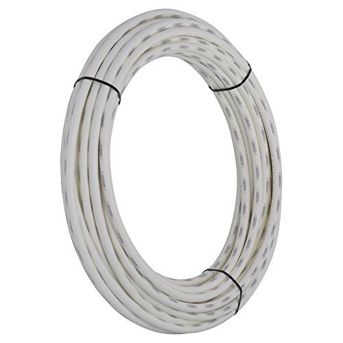 - SharkBite PEX Pipe 1/2 Inch, White, Flexible Tube, Potable Water, Push-to-Connect Plumbing Fittings, U860W100, 100 Foot Coil, 100-Foot,