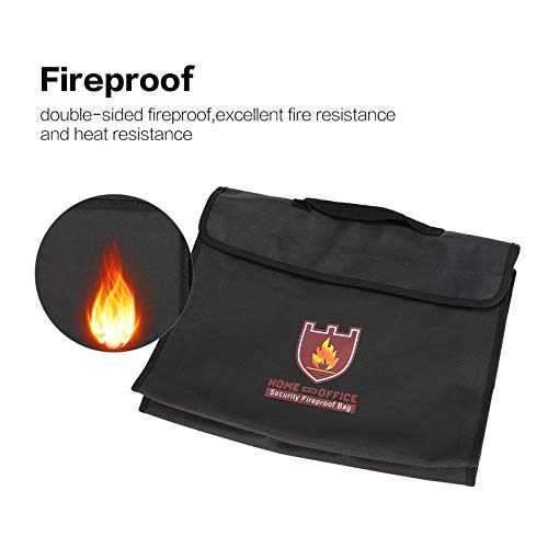 Wikiwand Battery Safe Bag Explosion-Proof Storage Fireproof Home Office File Pouch by Wikiwand (Image #1)