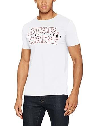 Star Wars Last Jedi Logo, Camiseta Para Hombre, Blanco, Small