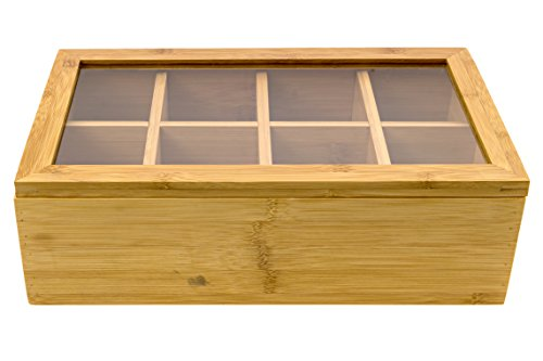 Intriom Bamboo Acrylic Compartment Multipurpose product image