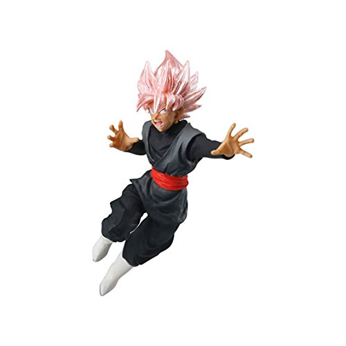 Gashapon Dragon Ball Super VS Dragon Ball 01 Mini Figure : SS Rose Goku Black
