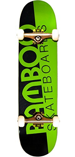 - Bamboo Skateboards Slash Graphic Complete Skateboard, 7.75