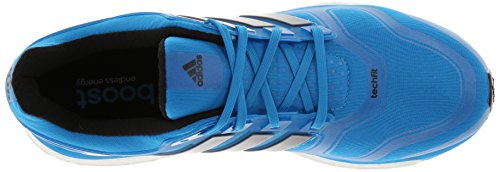 online retailer b5891 abc71 adidas Performance Men s Energy Boost 2 M Cushioned Running Shoe, Solar Blue  Black, 11.5 M US