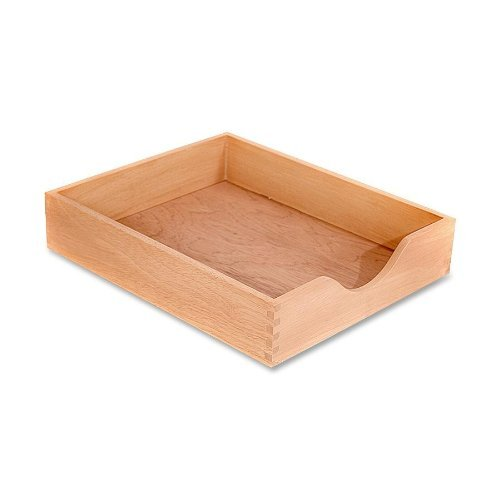 Carver Hardwood Stackable Desk Tray, Letter Size, 13.5 x 11 x 2.75 Inches, Oak Finish (CW07211) Color: Oak Finish Style: Letter Size, Model: CW07211, Office/School Supply Store