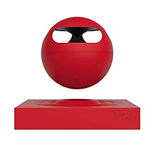 Yell by Voguestrap Hoveric Levitating Bluetooth Speaker (Red) by Yell