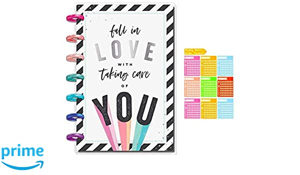 Amazon com : Mini Happy Planner Fitness Edition (Dated June