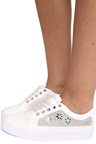 Sneaker Damen SheLikes Sneaker Weiß Sneaker Damen SheLikes Damen Weiß SheLikes 6xFRpwqa