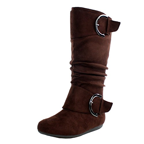 Womens Round Slouchy Boot Buckle product image